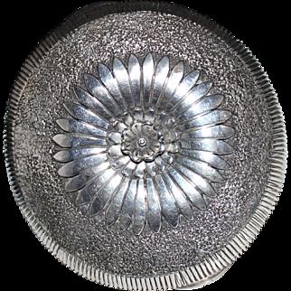 MASSIVE Navajo Eddy Chaco Sterling Silver Cuff Bracelet - Flower 127.8 Grams