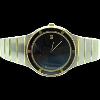 Vintage 1990s Men's Eterna Galaxis Swiss Luxury Wrist watch near mint condition