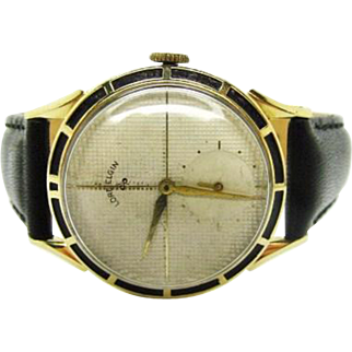 Vintage 1948 Men's Lord Elgin Clubman wrist watch new band and crystal fine runs
