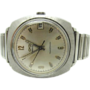 Vintage 1970 Mens Caravelle Transistorized by Bulova new battery new crystal