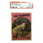 1959 Topps #407 Moe Drabowsky Psa Graded 7.5 Near Mint + 25986273