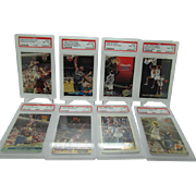 Lot of Shaquille O'neal Rookies Psa Graded 8 NM-Mint great starter collection!!