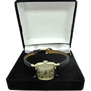 Vintage 1949 Men's Hamilton Norman watch 982 cal 19 jewel Swiss manual wind