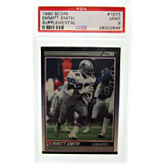 1990 Score Supplemental 101T Emmitt Smith Rookie PSA Graded 9 MINT!! 26002648