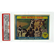 1961 Topps Set Break #312 Bill Mazeroski PSA 8 NM-MT (MC)very nice!! 26002644