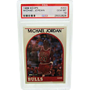 1989 Hoops #200 MIchael Jordan HOF PSA graded Gem mint 10++++Investment 26002626