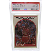 1989 Hoops #200 MIchael Jordan HOF PSA graded Gem mint 10++++Investment 26002624