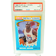 1990 Fleer All-Star #5 MIchael Jordan HOF PSA graded MINT 9++Investment 26275187