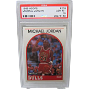 1989 Hoops #200 Michael Jordan HOF PSA graded Gem mint 10++++Investment 26275169