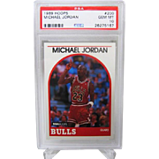 1989 Hoops #200 Michael Jordan HOF PSA graded Gem mint 10++++Investment 26275167