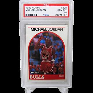 1989 Hoops #200 Michael Jordan HOF PSA graded Gem mint 10++++Investment 26275167