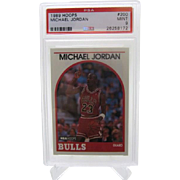 1989 Hoops #200 Michael Jordan HOF PSA graded MINT 9++++Investment 26258172
