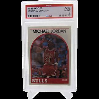 1989 Hoops #200 Michael Jordan HOF PSA graded MINT 9++++Investment 26258172