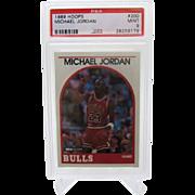 1989 Hoops #200 Michael Jordan HOF PSA graded MINT 9++++Investment 26258179