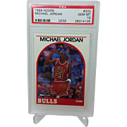 1989 Hoops #200 Michael Jordan HOF PSA graded Gem mint 10++++Investment 26314105