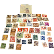 Antique 1800s to early 1900s era lot of used cancelled stamps from Austria - Red Tag Sale Item