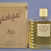 "American, Circa 1929, ""Heatherfield"" Presentation Set, Commercial Perfume Bottle by Philip Maurice in Original, Fitted Box"