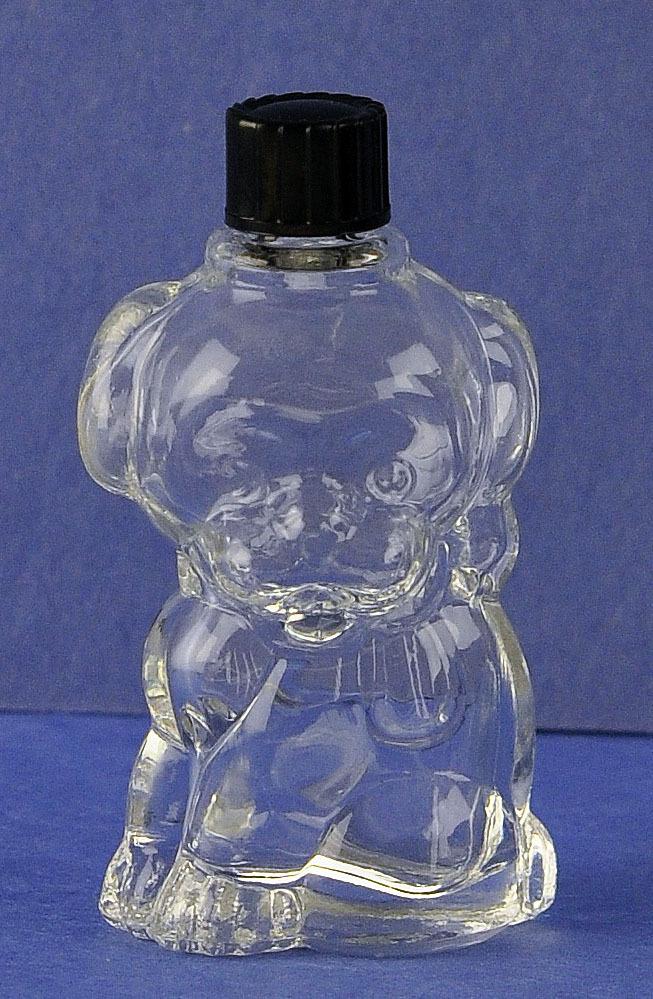 "Adorable! Dutch, Circa 1940's, ""Dog"" Novelty Perfume Bottle by S. Kleinkramer Bergen-Op-Zoom."
