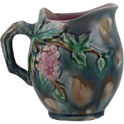 Griffen smith & Hill Hawthorne patterned majolica creamer