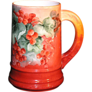 "Hand Painted ""T & V LIMOGES France"" Mug"