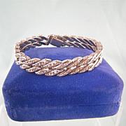 West Germany Rhinestone Bracelet, DRGM-type, Glamorous