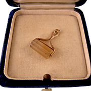 Remarkable Days of the Week Wax Seal Fob, 14K and Agate, Antique Victorian