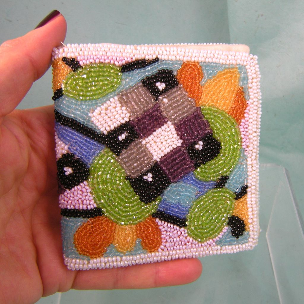 Walborg Hand Beaded Wallet in Fabulous Colors