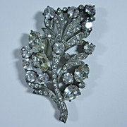 Beautiful Large Eisenberg Original Brooch