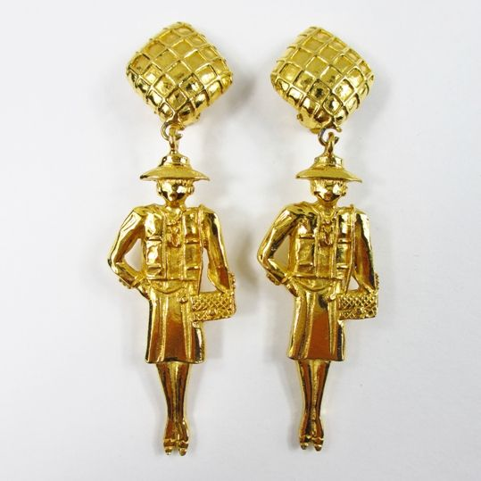 Chanel Earrings ala Coco Chanel