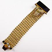 Deco Style Big Bold Bracelet