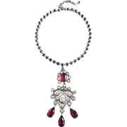 Schreiner Necklace with Removable Pendant