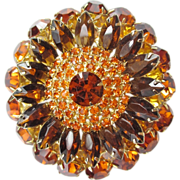 Large Colors of Fall Brooch