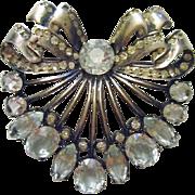 Eisenberg Original Sterling Silver Fur Clip