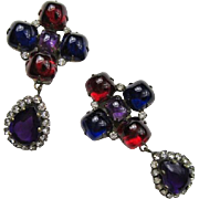 Kenneth Jay Lane (K.J.L.) Earrings 1960s