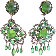 Fabulous K.J.L. 60s Earrings
