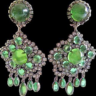 Fabulous K.J.L. 60s Earrings