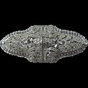 Art Deco Style Duette Brooch Clip