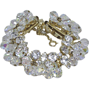 Juliana Clear Crystal Bracelet