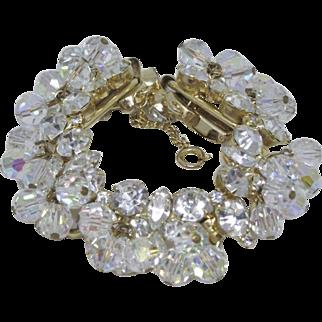 Juliana Clear Crystal Bracelet