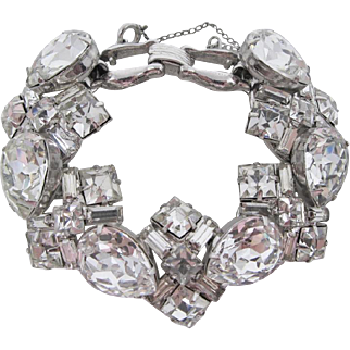 Amazing Juliana Clear Rhinestone Bracelet
