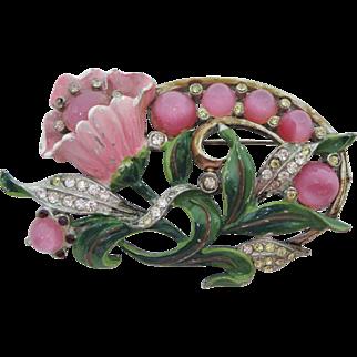Adorable Flower Brooch
