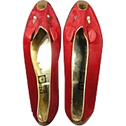 Enzo of Roma Vintage Fur Mice Mouse Shoes
