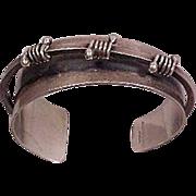 50's Modernist Jules Brenner Cuff Bracelet