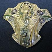 Victorian Art Nouveau Buckle