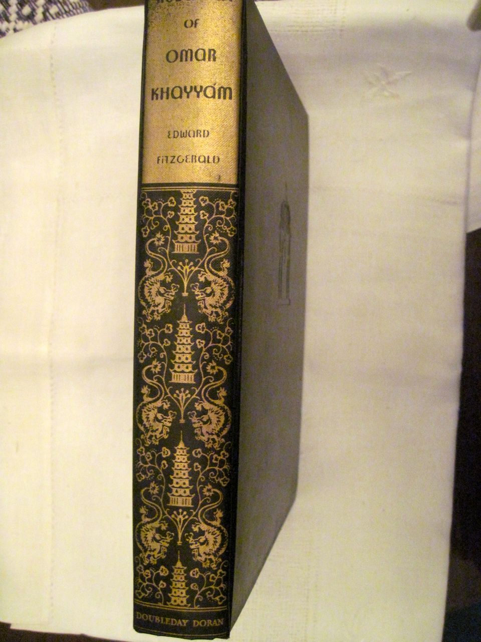 Rubaiyat of Omar Khayyam, Illustrated by Edmund Dulac, 1934, Dust jacket. 50% off