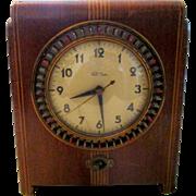 "Vintage Pre-War Warren Telechron clock/timer by designer Belle Kogan in 1935,  ""Controlla"" 8B51 - Red Tag Sale Item"