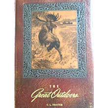 Vintage: First Edition the Great Outdoors, Father's Day find: Joe Godfrey, Frank Dufresne, Illus. Herb Chidley, 1947