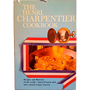 On Sale: Charpentier, Henri vintage cookbook: 1970: signed copy: DJ: excellent condition