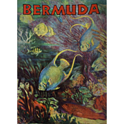Vintage: Bermuda Travel Booklet: 1930s: pristine condition