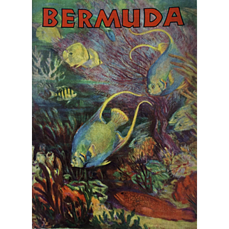 Bermuda Travel Booklet: 1930s: pristine condition